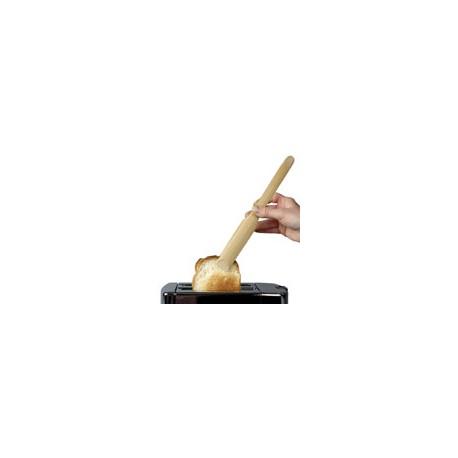 Pince à toast en bambou