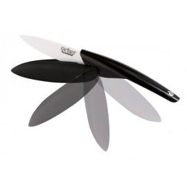 Couteaux office céramique escamotable