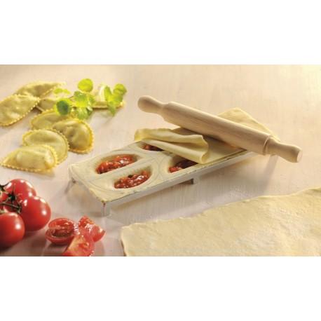 Découpe ravioli en plaque