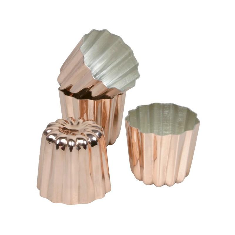 moule cannel bordelais en cuivre la carpe. Black Bedroom Furniture Sets. Home Design Ideas
