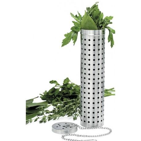Tube infuseur à herbes en inox