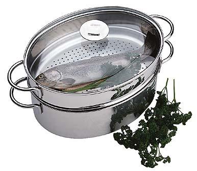 poisson cuit vapeur