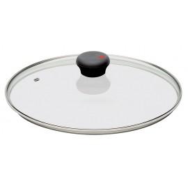 Couvercle verre Coccinelle 24 cm