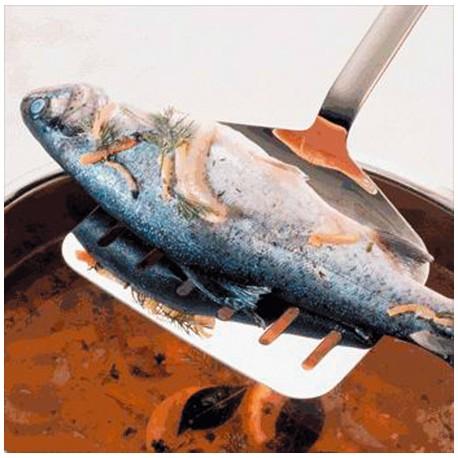 Pelle à poissons et asperges Rösle